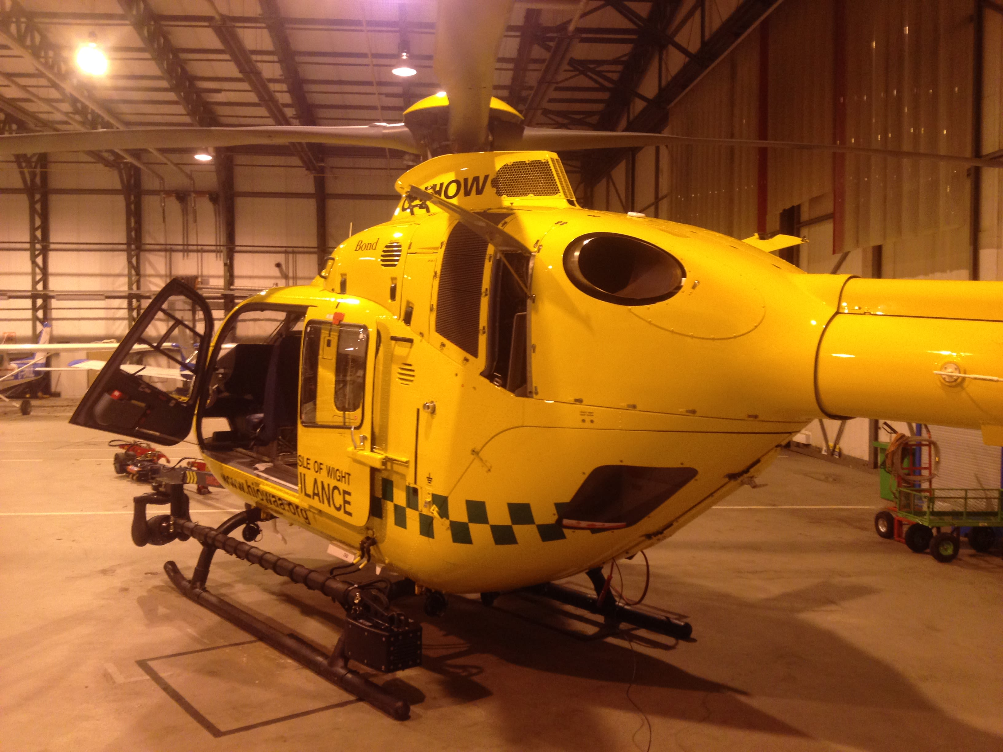 OxSTaR supports first Thames Valley Air Ambulance night simulation exercise