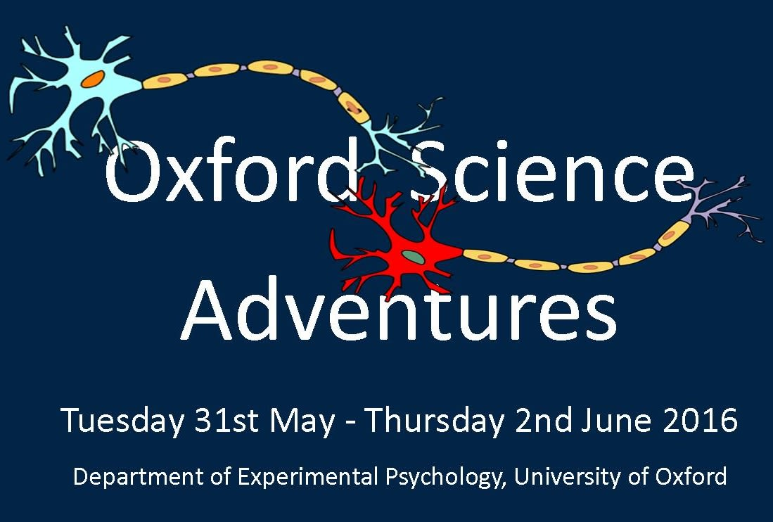 Oxford science adventures is back!
