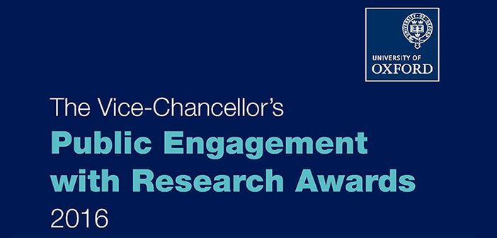 Researcher wins prize for engaging the public