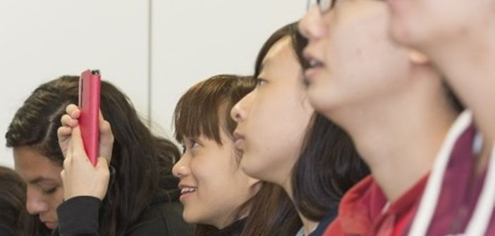 Students from around the world find out about our research