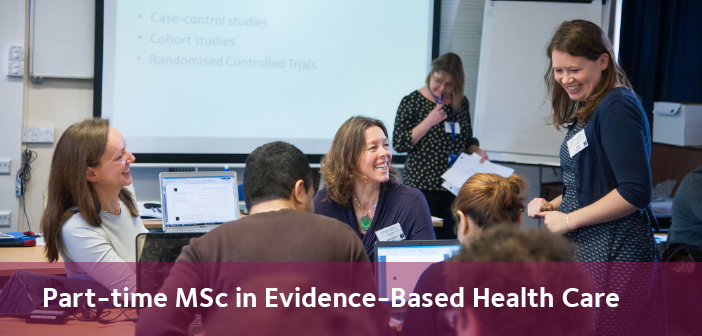 Part-time MSc in Evidence-Based Health Care