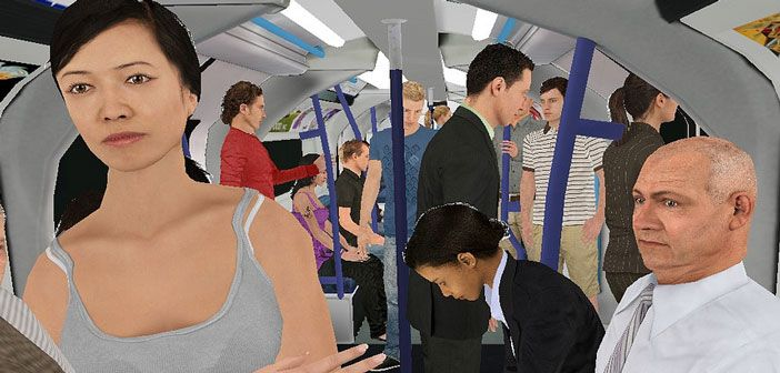 Virtual reality can help treat severe paranoia by allowing people to face situations that they fear, an Oxford University study has found. The virtual reality simulations allowed the patients to learn that the situations they feared (such as a crowded tube train) were actually safe.