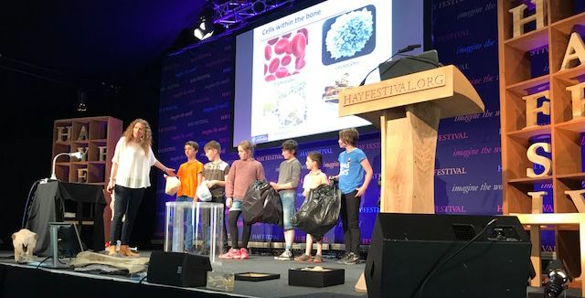 Last week, Drs Emma Morris and James Edwards were invited to take part in the popular Hay Festival in Hay-on-Wye.