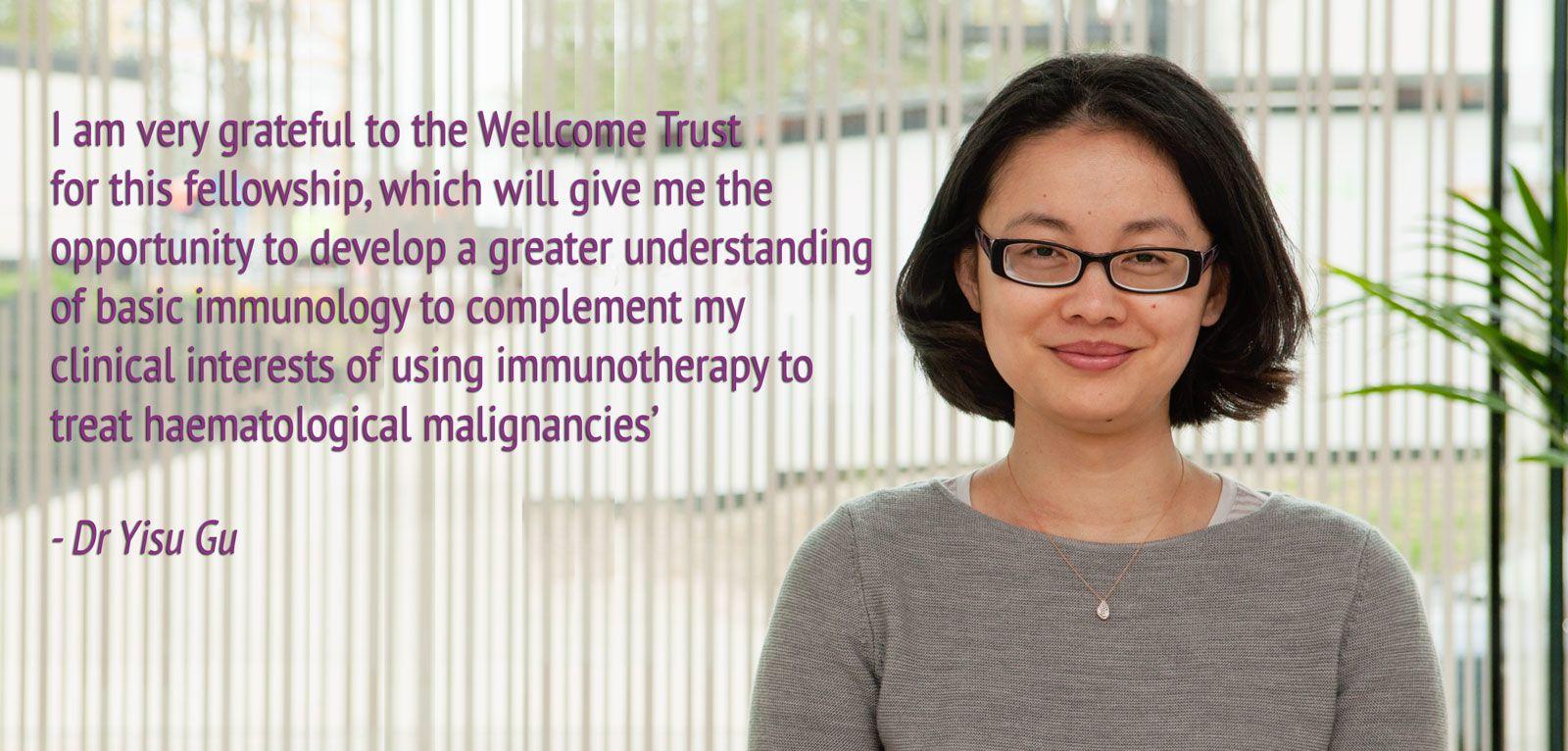 Kennedy investigator awarded Wellcome Trust Clinical Fellowship