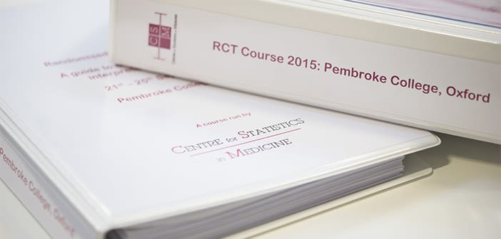 RANDOMISED CONTROLLED TRIAL COURSE: A Guide to Design, Conduct, Analysis, Interpretation and Reporting