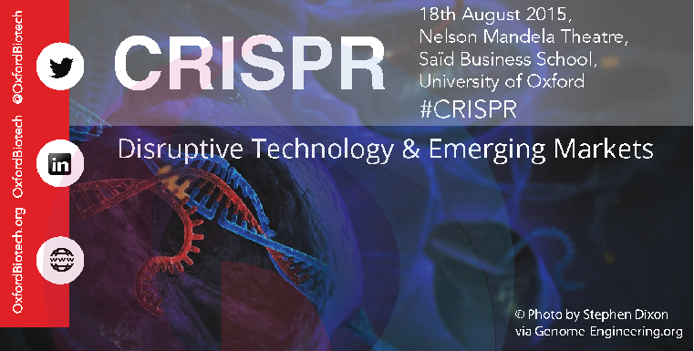 CRISPR - Disruptive Technology and Emerging Markets