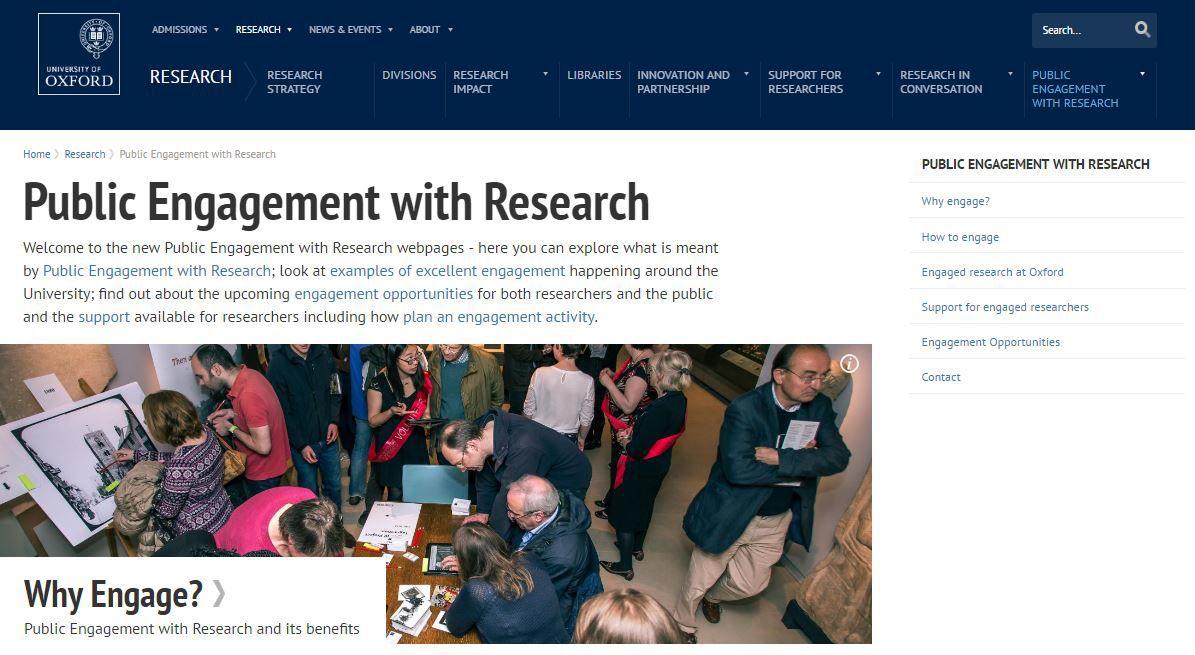 Public Engagement with Research Portal now live