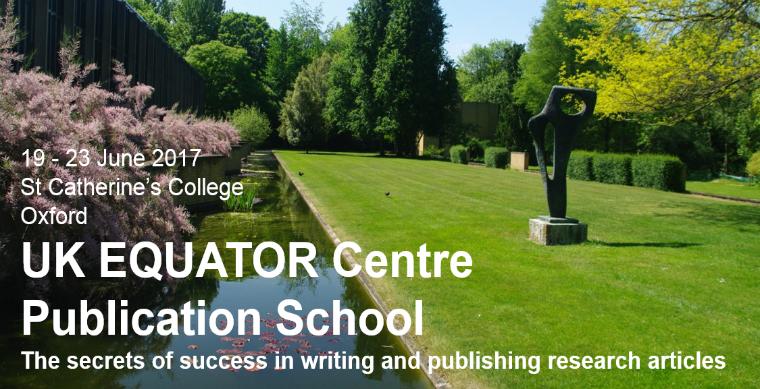 EQUATOR Publication School 2017, 19-23 June