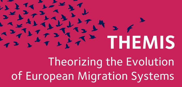 Theorizing the Evolution of European Migration Systems (THEMIS) was a four-year project which took a fresh look at how patterns of migration to Europe develop, focusing on the conditions that encourage initial moves by pioneer migrants to become established migration systems (or not). Following the end of the project its data is now available to interested researchers through the UK Data Service [click through section to access link]