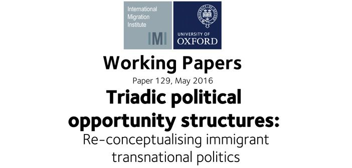 New working paper explores when, why and how immigrants engage in transnational political action