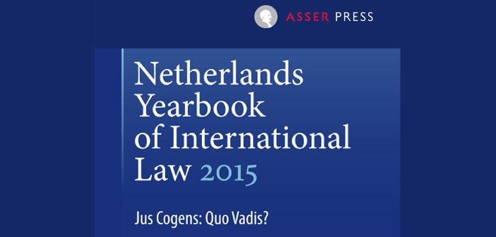 New publication: Non-refoulement as custom and jus cogens? Putting the prohibition to the test