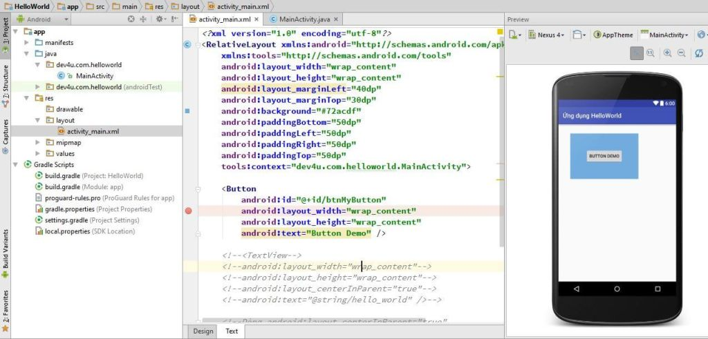 Tìm hiểu về layout trong Android