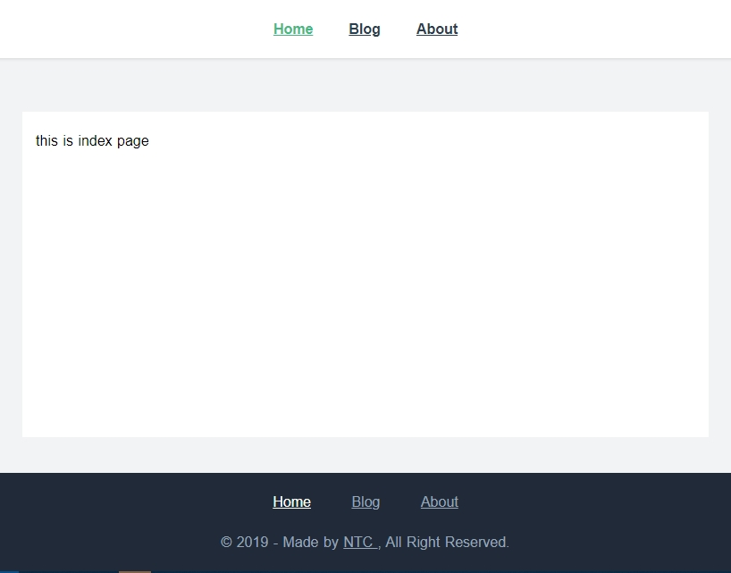 Custom layout Nuxt JS