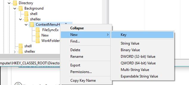 Hướng dẫn fix lôi không tạo được thư mục trên windows 10