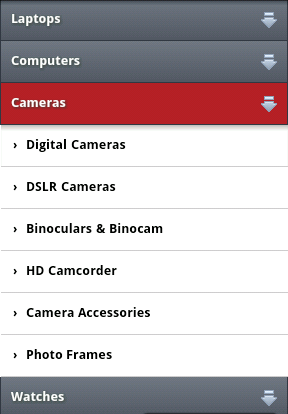 ExpandableListView trong Android