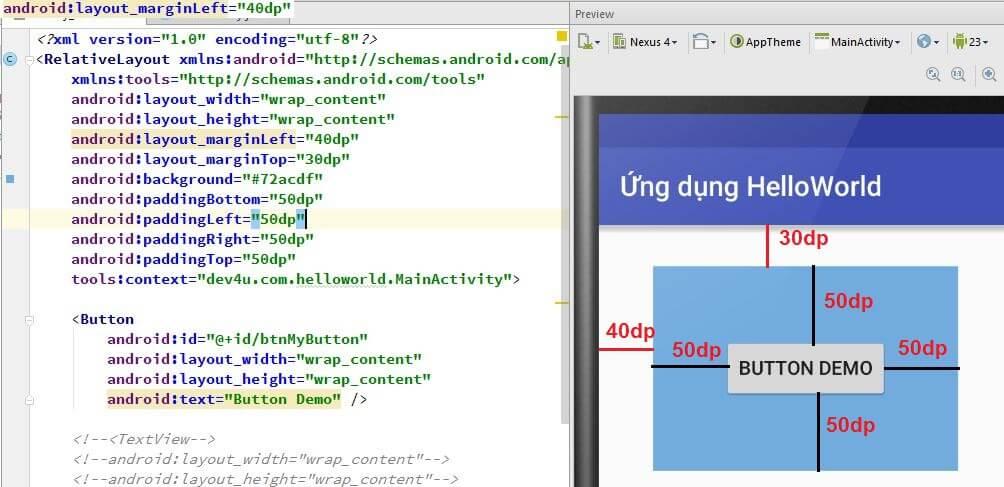 Tìm hiểu các layout trong Android