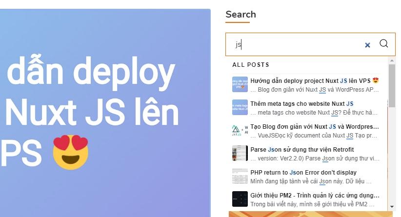 Search nhanh như điện xẹt cho trang web WordPress với Algolia