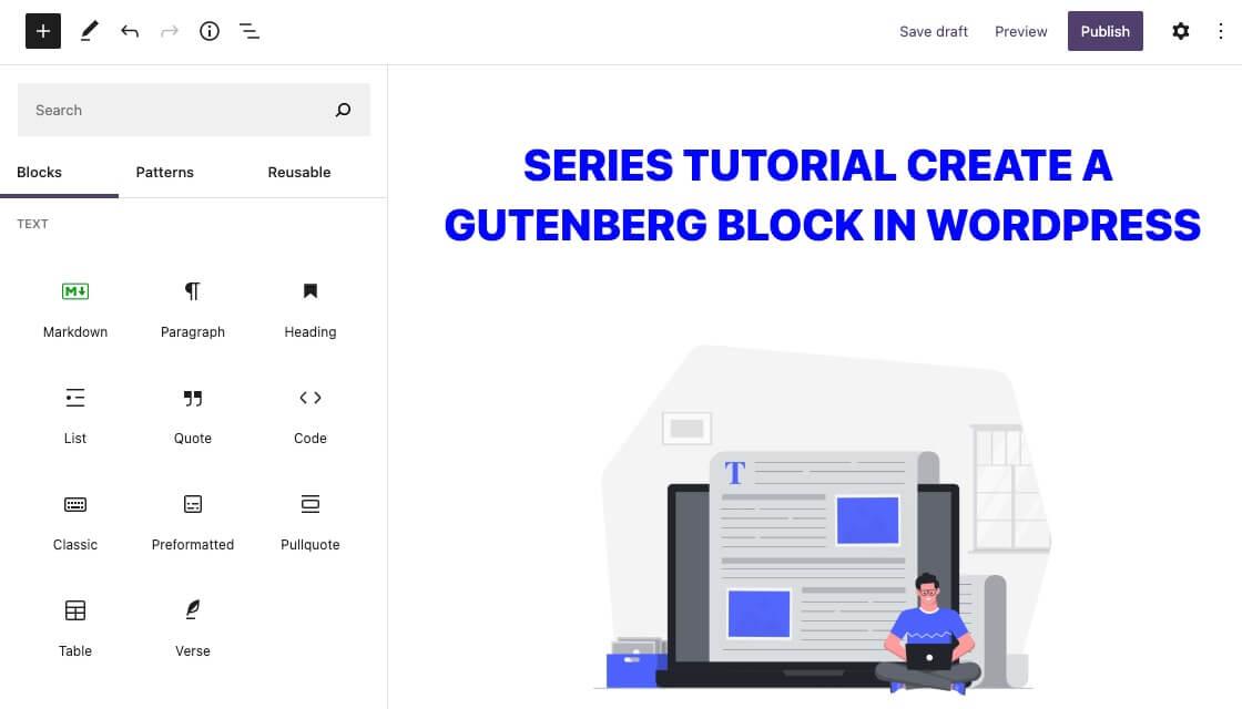 Làm quen với các components thường dùng khi tạo Gutenberg Block