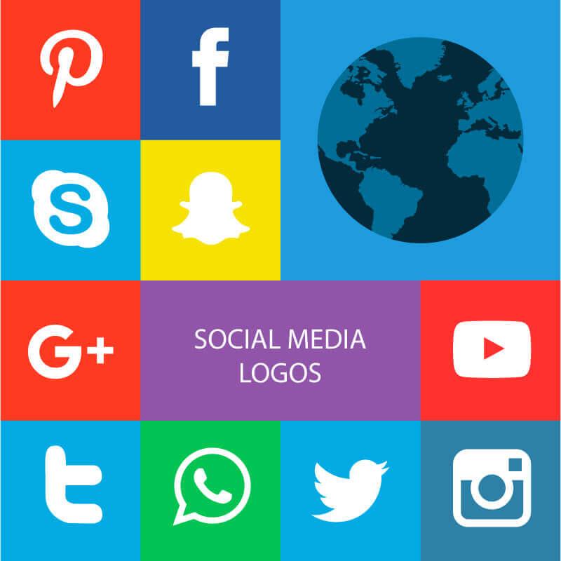 Màu sắc chủ đạo của các mạng xã hội