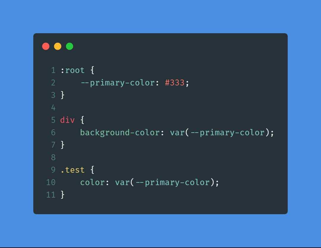 Giới thiệu và sử dụng CSS Variables