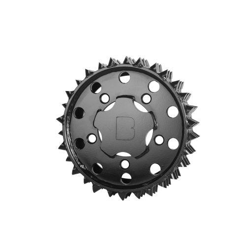 Outer feed roller H415 Black Bruin 27mm RH (BM001129)