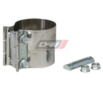 J190059 | Donaldson Torctite Exhaust Pipe Lap Joint Clamp