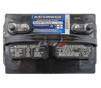 24DC-140 | Nationwide Interstate Flooded Deep Cycle Battery