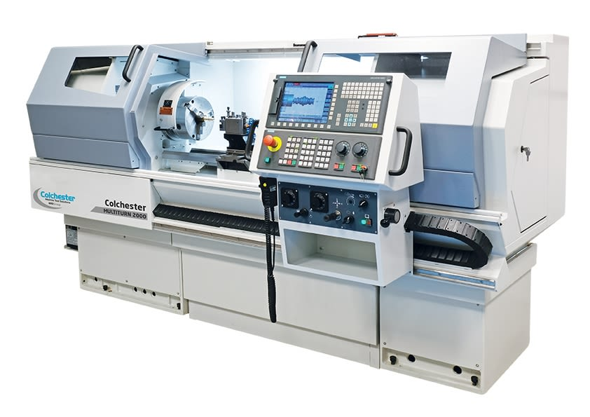 Colchester Multiturn 2-Axis CNC Combination Lathes