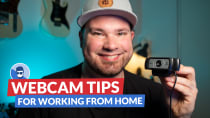 COVID-19 Work from home: how to make your webcam look good