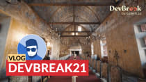 Vlog: DevBreak21 what an amazing conference experience!