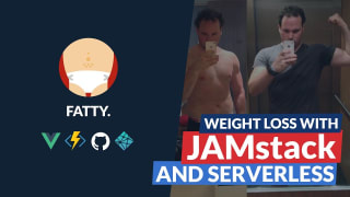 Weight loss with Serveless architecture and the JAMstack
