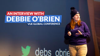 Vue.js Global conference: An interview with Debbie O'Brien