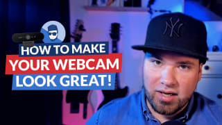 How to get your webcam to look decent in a few simple steps