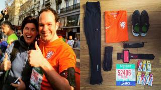 The 2015 Paris marathon