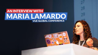Vue.js Global conference: An interview with Maria Lamardo