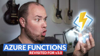 Azure functions revisited for v3. Conclusion: AWESOME