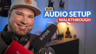 My audio setup 2020