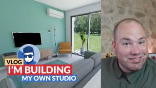 I'm building my own studio!