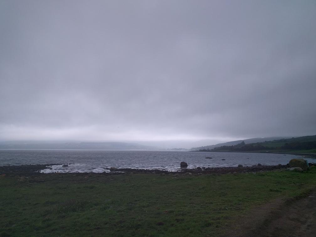 view to Lamlash