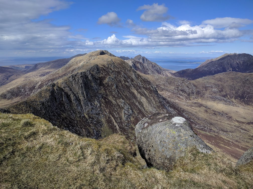 view of beinn tarsuinn