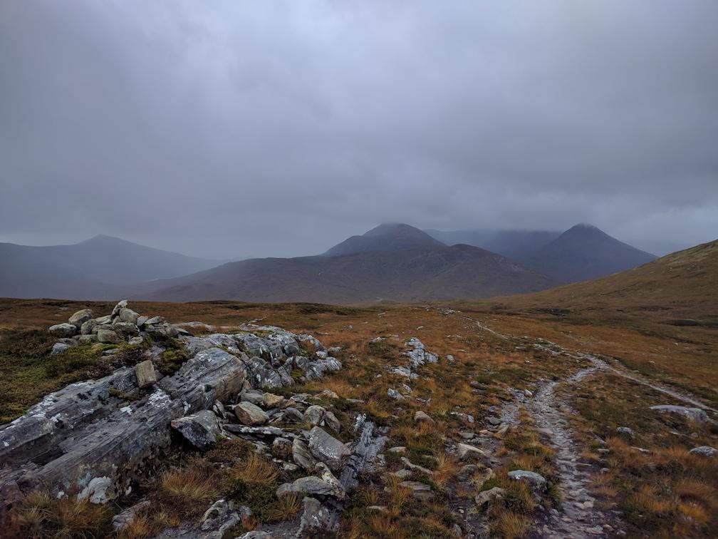 slabby trail at luibeilt