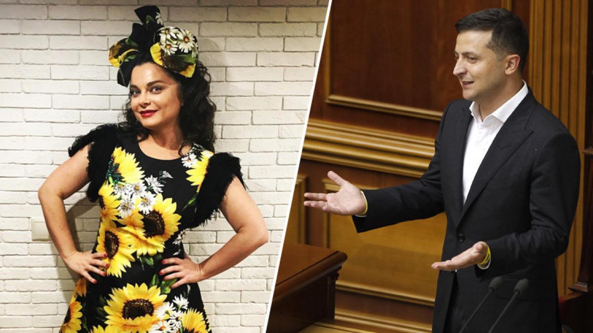 Наташа Королева рассказала пикантную историю о Владимире Зеленском: