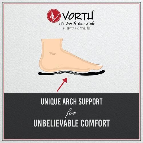 Unique Arch Support - Ergonomic Design