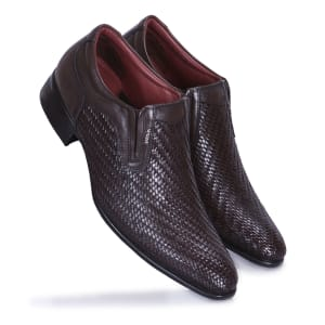 Brown Formal Slip-on Shoe for Men