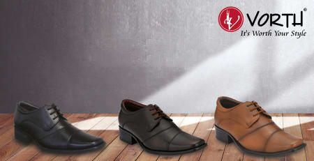 Vorth leather shoes