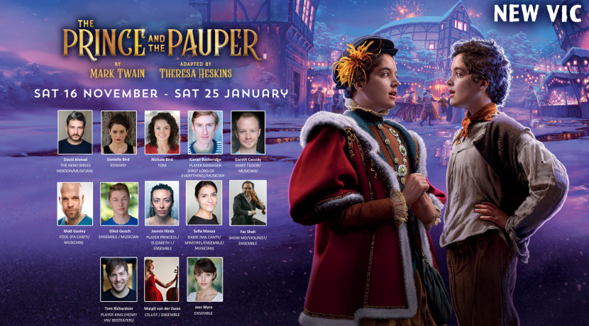 New festive adaptation of The Prince & The Pauper to premiere at New Vic