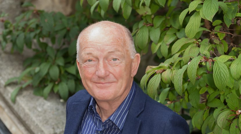 Oz Clarke leads charity bike ride to raise £10K to set up school choirs