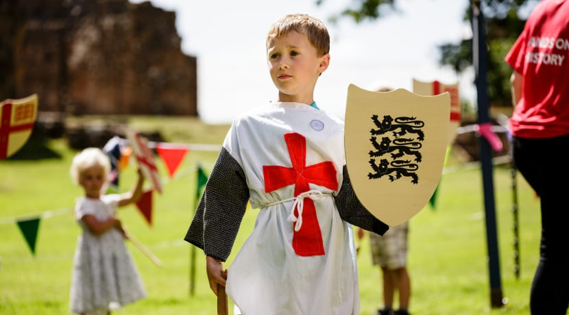 Get hands on with history at Kenilworth Castle this February half term