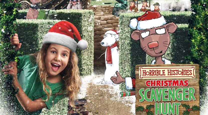 Horrible Histories Christmas Scavenger Hunt