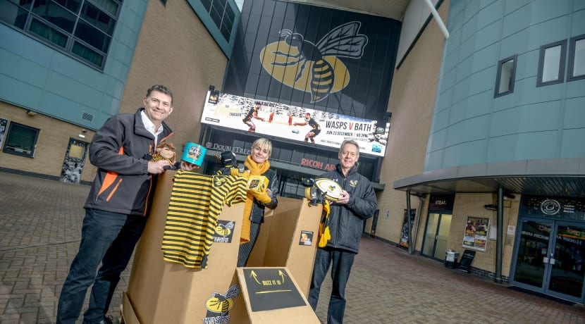 Wasps appealing for festive donations